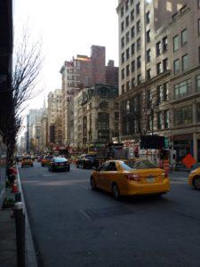 Nowy Jork auta hybrydowe