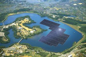 Morskie farmy słoneczne w Japonii