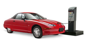 Samochód elektryczny GM EV1