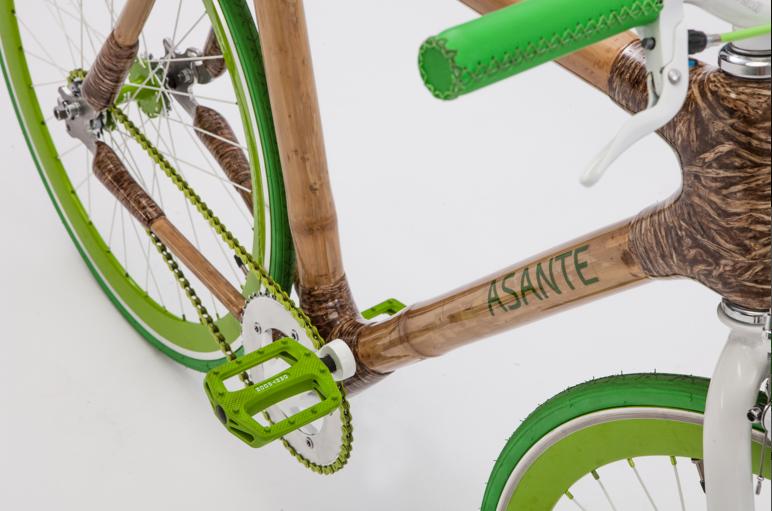 Rower z bambusa
