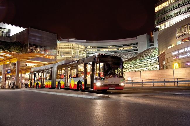 Autobus hybrydowy Solari