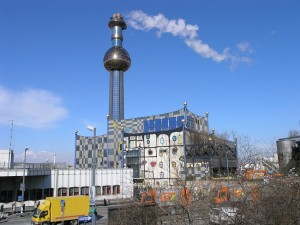 Spalarnia śmieci w Wiedniu