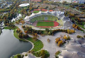 Biomimikra w architekturze - stadion w Monachium