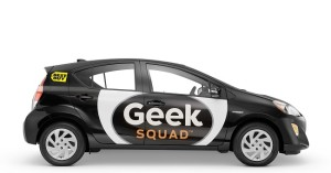 Toyota Prius C auto hybrydowe Geek Squad Volvo XC90 T8
