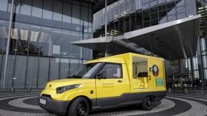 Elektryczny samochód Deutsche Post