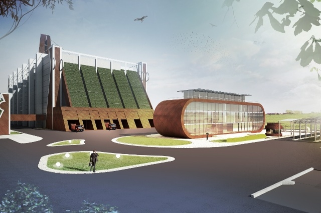 Ekologiczny budynek w Rudzie Śląskiej