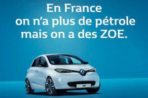 Auta elektryczne Renault Zoe