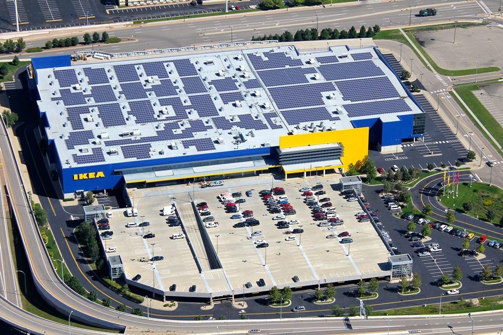 IKEA_Bloomington_Solar_Panels
