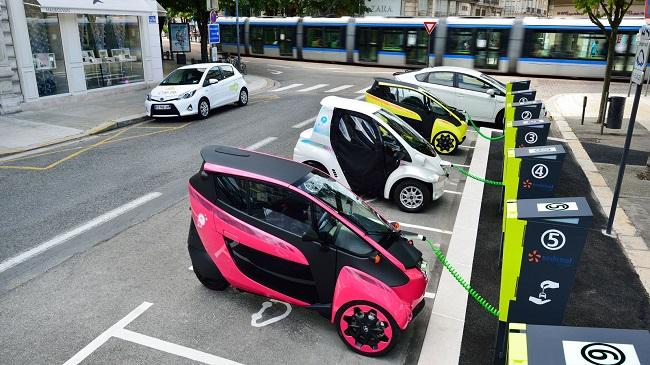 Cite Lib Toyoty w Grenoble