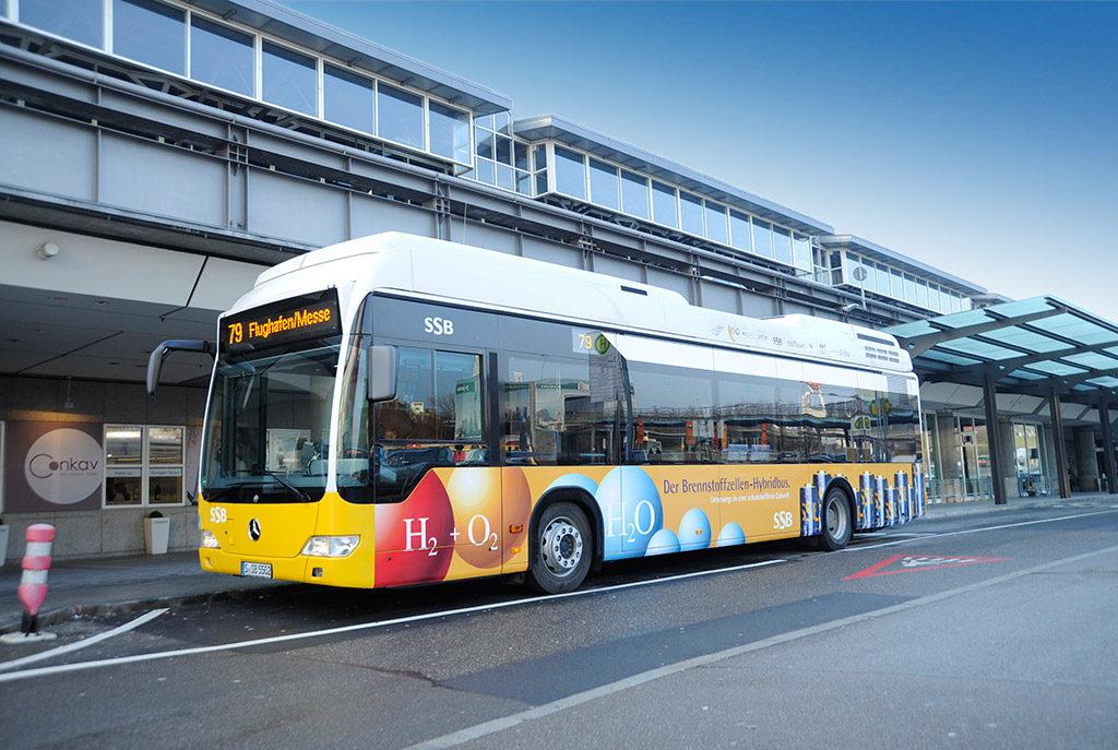 wodorowe autobusy mercedes citaro stuttgart