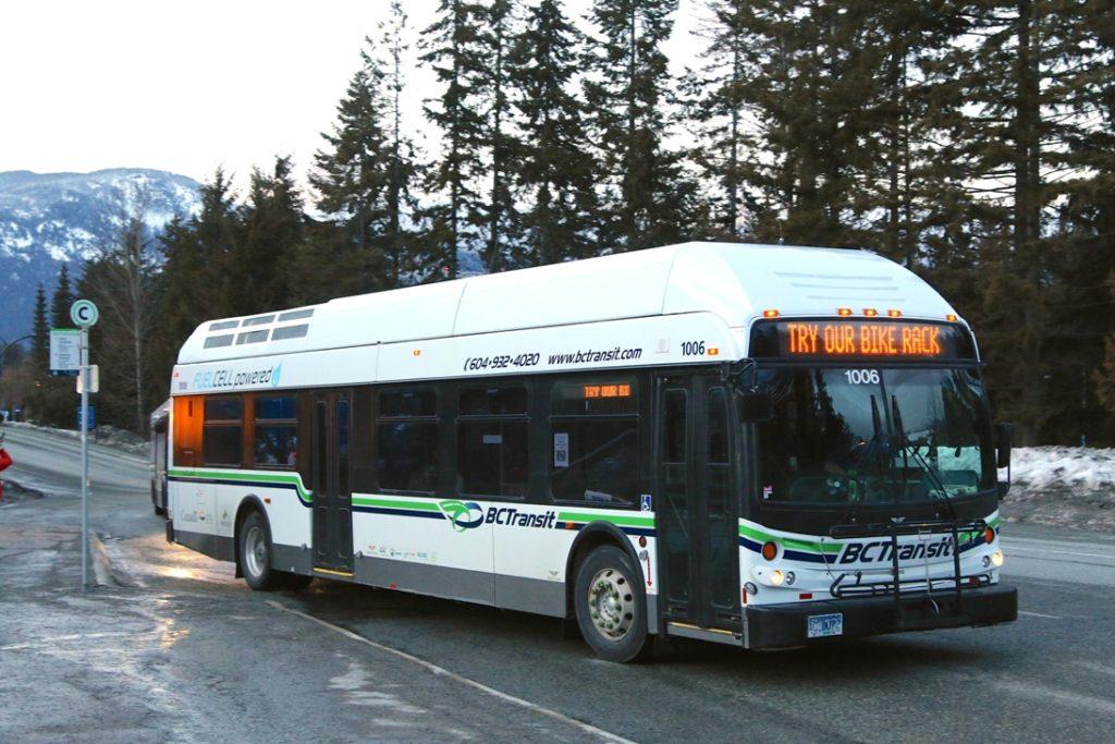 wodorowe autobusy newflywer whistler