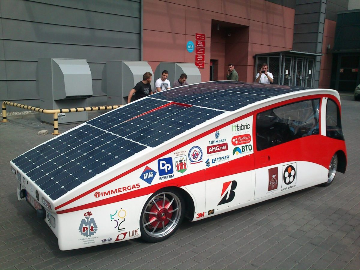 LodzSolarTeam_EagleOne