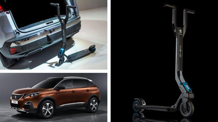 Peugeot E-Kick elektryczna hulajnoga