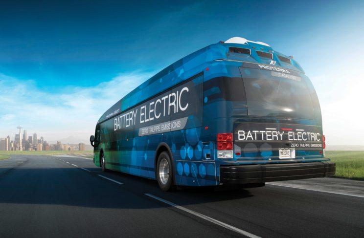 Elektryczny autobus Proterra Catalyst E2