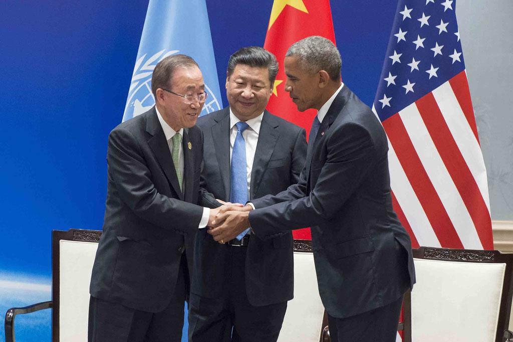 porozumienie z paryża USA Chiny