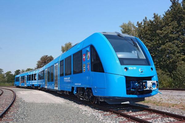Wodorowy pociąg Alstom