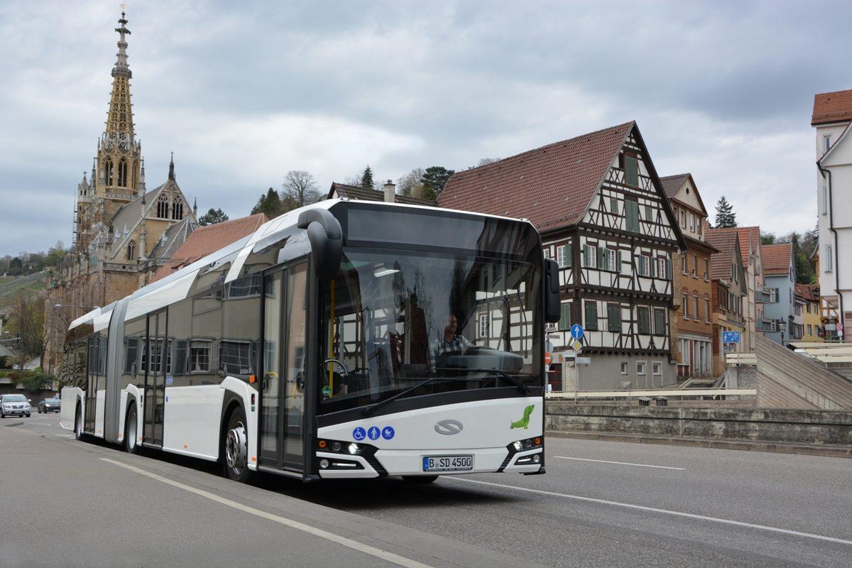 zrównoważony transport autobus solaris urbino