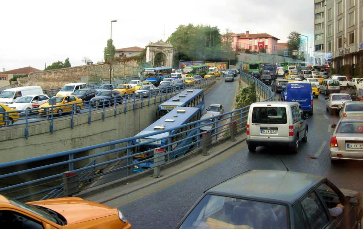 zrównoważony transport korki stambul