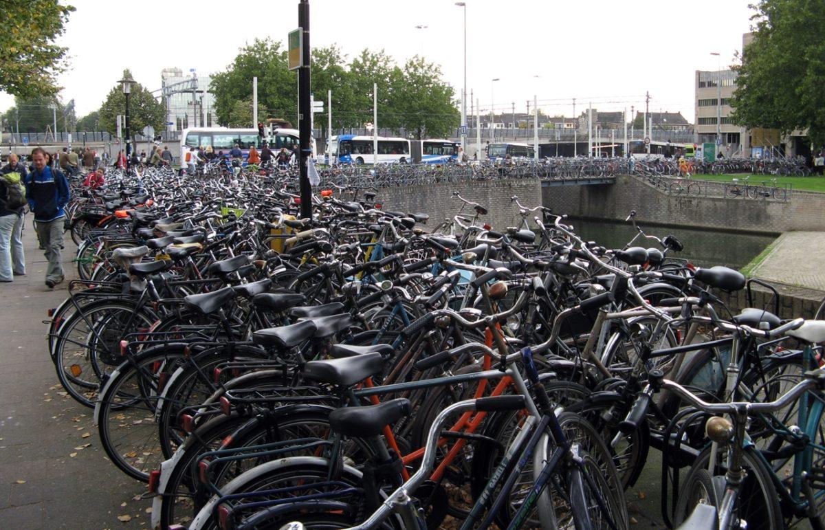 zrównoważony transport rowery utrecht