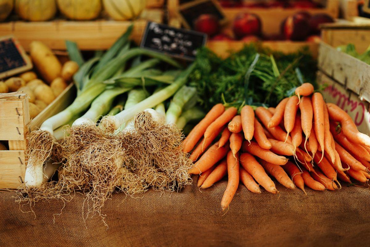 marnowanie jedzenia warzywa