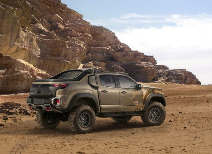 Armia amerykańska stawia na wodór Chevrolet ZH2