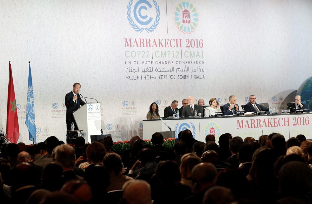 szczyt klimatyczny COP22 ban ki-moon