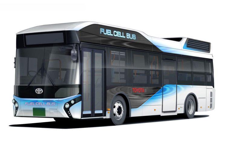 Wodorowy autobus Toyoty też może działać jak generator