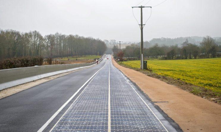 Droga solarna we Francji