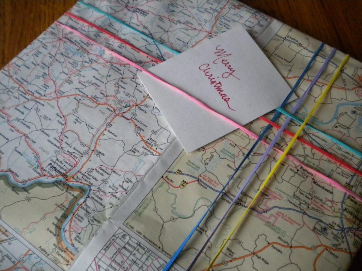 ekologiczne święta pakowanie prezentów mapa
