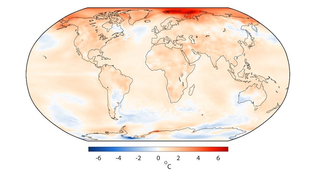 rekord temperatury 2016 Copernicus grafika1-x
