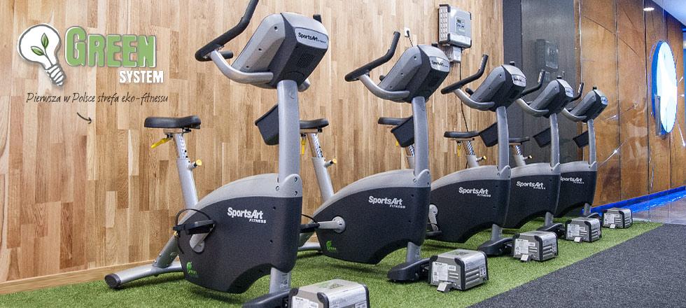 ekologiczna siłownia green system saturn fitness