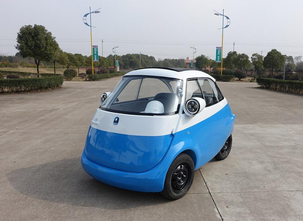 microlino prototyp miejski samochod przyszłości