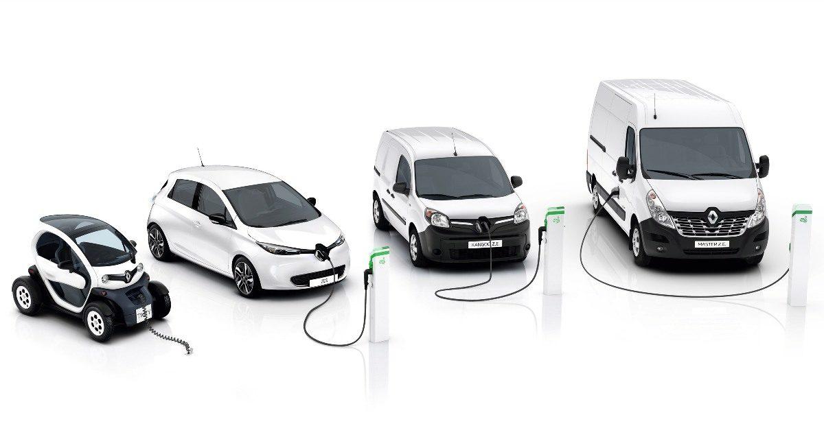 Elektryczne modele dostawcze Renault