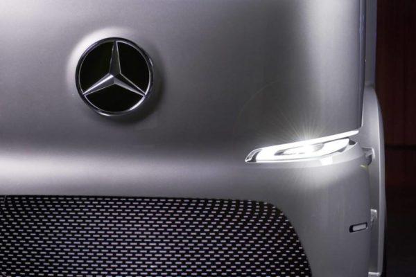 Elektryczna ciężarówka Mercedes Urban eTruck