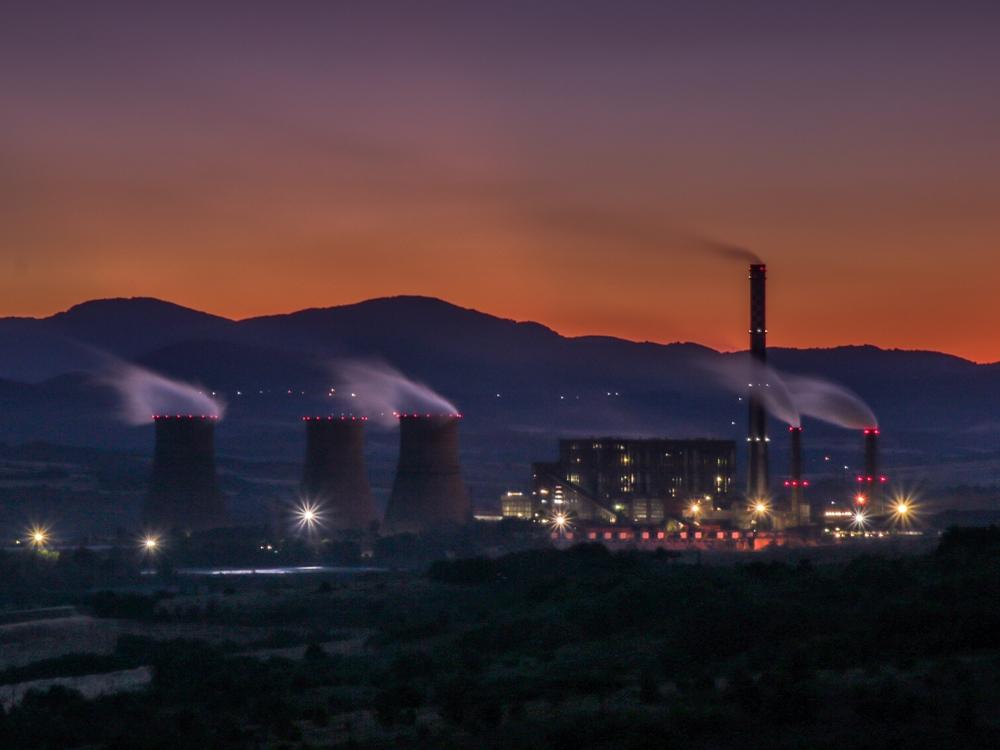 globalne emisje CO2 elektrownia bułgaria