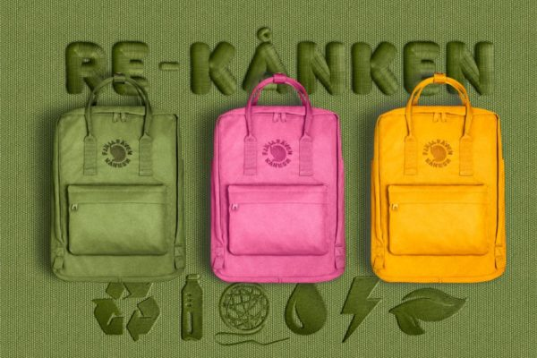 ubrania akcesoria z recyklingu plecak re-kanken
