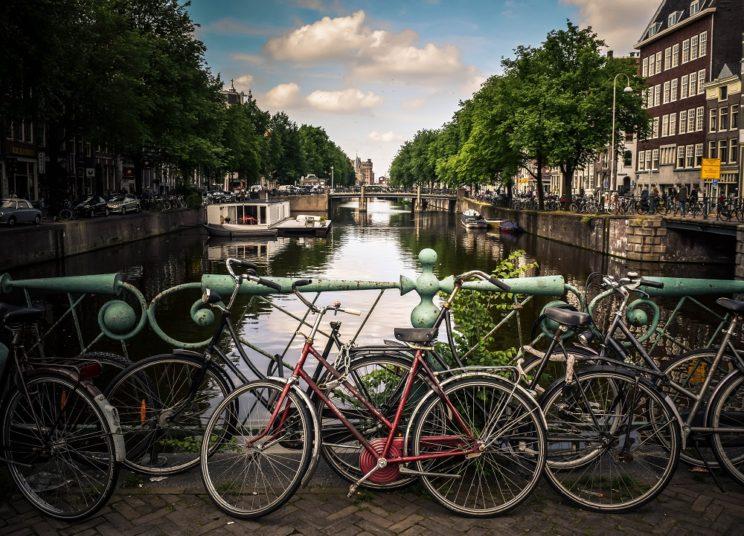 Ekologiczne miasto Amsterdan