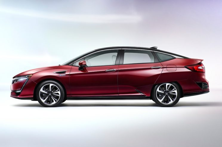 Honda Clarity Fuel Cell wodorowa