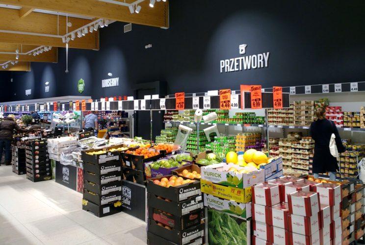 marnowanie żywności supermarket
