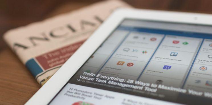 Gazeta na papierze czy na smartfonie?