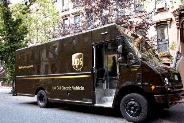 Wodorowe auto dostawcze UPS