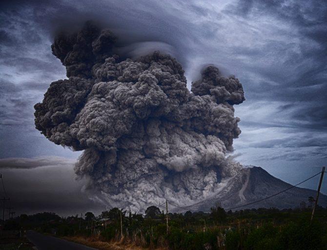 erupcja wulkan indonezja yosh ginsu