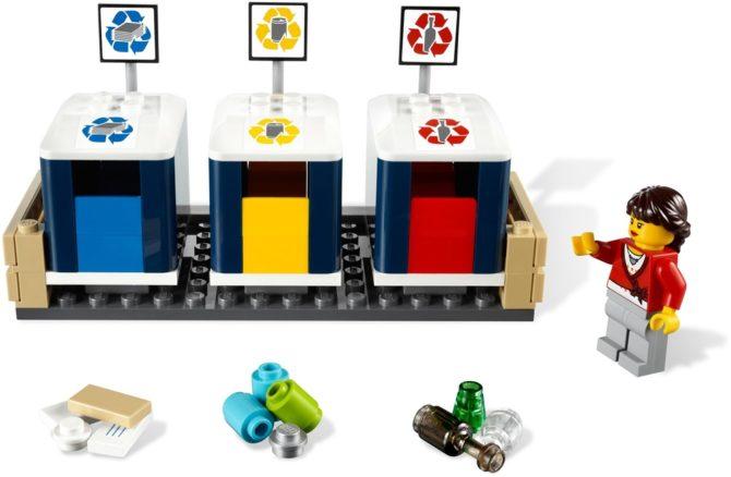 klocki LEGO recykling 4206