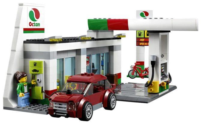 klocki lego 60132 ładowarka auto elektryczne