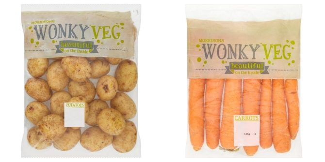 marnowanie żywności brzydkie warzywa