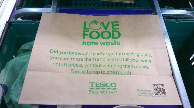 marnowanie żywności tesco love food