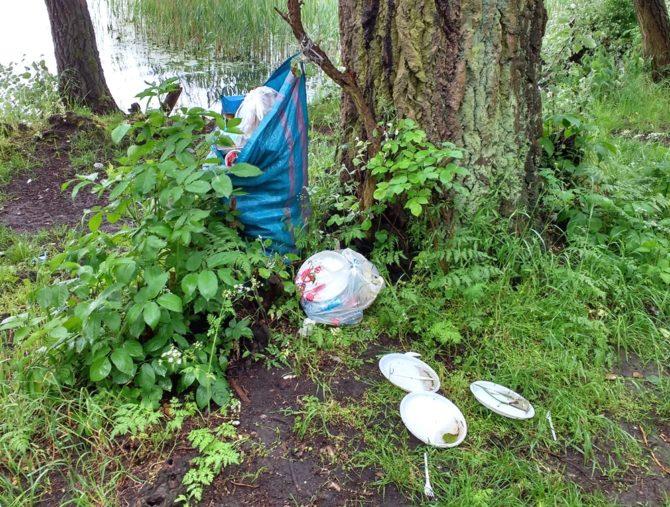 ekologiczne wakacje śmieci