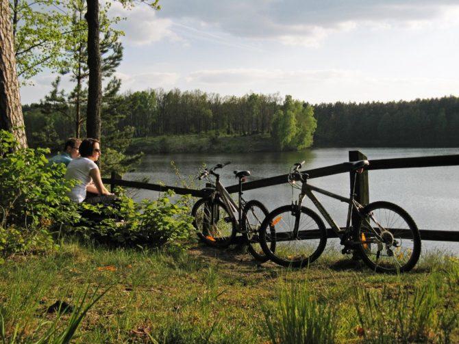 ekologiczne wakacje rower bory tucholskie