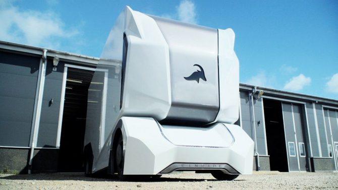 Einride T-Pod to autonomiczna ciężarówka, na dodatek elektryczna / Źródło: Einride