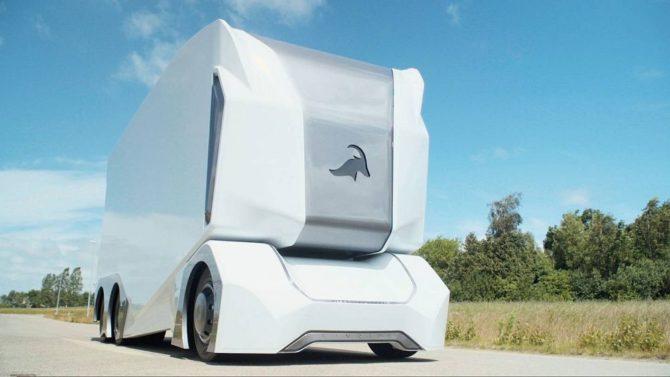 Einride T-Pod autonomiczna ciężarówka elektryczna (3)